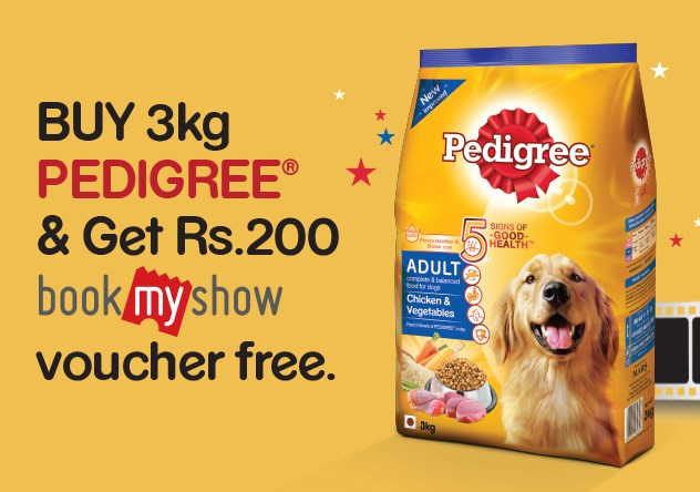 pedigree bookmyshow