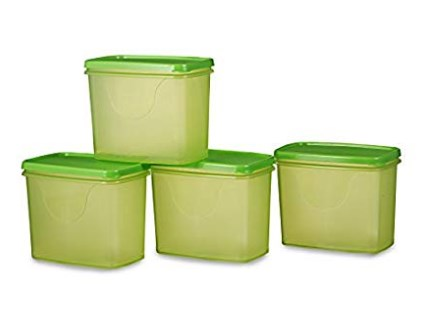 All Time Plastic Sleek Container Set