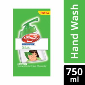 Amazon - Lifebuoy Nature Germ Protection Hand Wash 750 ml at Rs.99