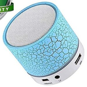 Amplec Smart Led Crack Mini Portable Bluetooth Speaker