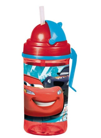 Disney Cars Tritan Sipper Bottle, 350ml,