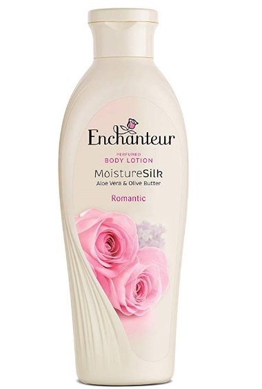 Enchanteur Perfumed Body Lotion Moisture Silk Aloe Vera and Olive Butter Romantic
