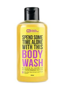 Happily Unmarried Body Wash, Orchid and Jasmine, 200ml