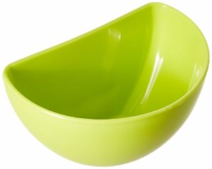 JVS Plastic Chutney Bowls Set, 60ml, Set of 6, Apple Green