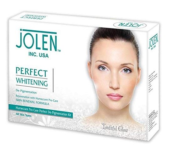 Jolen Perfect whitening facial kit