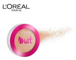 L'Oreal Paris Mat Magique All-In-One Pressed Powder, G1 Vanilla Ivory, 6g