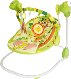 LuvLap Happy Forest Baby Swing Non-electric Bouncer