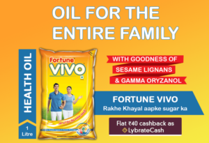 Lybrate - Get Fortune Vivo Oil (1L Pouch) worth Rs. 150 for Rs. 20