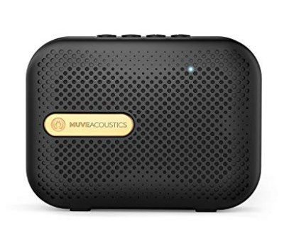 Muve Acoustics Box Portable Wireless Bluetooth Speaker with FM Radio