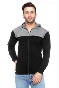 Paytm : fabstone collection Men Cotton Hoodie - Black at Rs.179