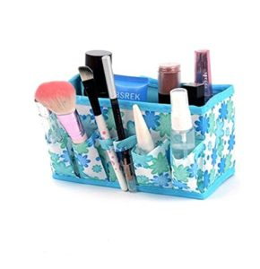 Amazon - Buy Pindia 2 Piece Fabric Makeup Cosmetic Storage Organiser at Rs. 100