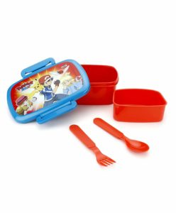 Amazon - Buy Pokemon Plastic Lunch Box, 500ml, Blue at Rs. 90