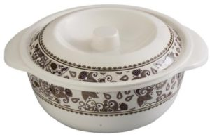 Servewell Royal Paisley Serving Casserole with Lid Set, 19cm, 2-Pieces