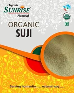 Sunrise Organic Natural Suji 500gm