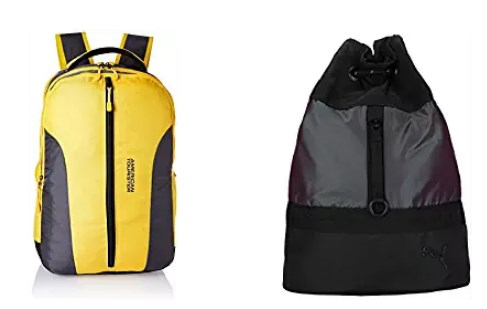 branded backpacks 70% off