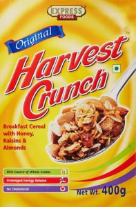 Amazon - Buy Express Foods Harvest Crunch Breakfast Cereal, 400g at Rs 107