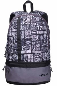 Amazon - F Gear Burner P8 26 Ltrs White Casual Laptop Backpack (2184) At Rs.335 Only