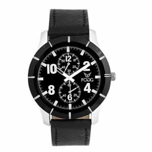 Amazon - Fogg Analog (Black) Chrono Dummy Dial Men's Watch at Rs.99