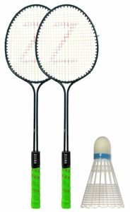 Amazon - Klapp Badminton Set (Pack Of Two Racquet And 1 Shuttlecock) Rs. 187
