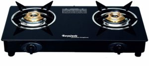 Amazon - Suryajwala Stainless Steel 2 Burner Gas Stove, Black at Rs.1318