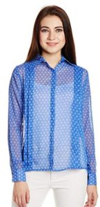 Ans Fab Women's Button Down Shirt
