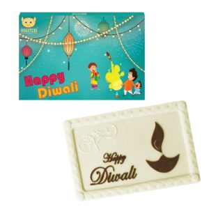 Bogatchi Happy Diwali Chocolate Bar, 70