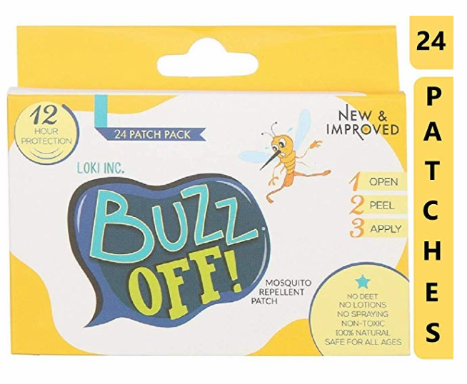 Buzz Off! Mosquito Repellent Patch