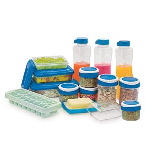 Cello Fridge Kit Set, 15-Pieces, Blue