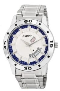 Espoir Analogue Blue Dial Men's Watch