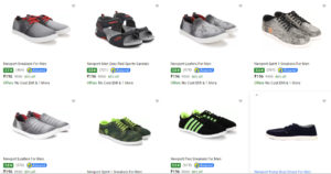 Flipkart - Shoes Starting At Rs.196 Only