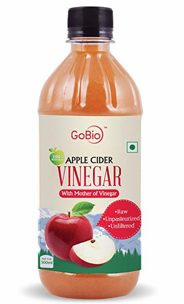 GoBio Apple Cider Vinegar with Mother Vinegar- 500 ml