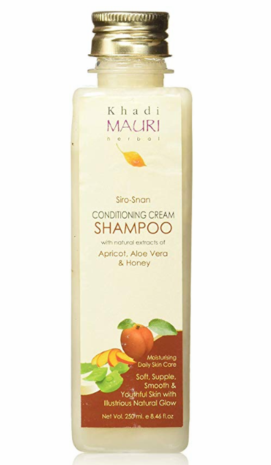 Khadi Mauri Herbal Siro-Snan Conditioning Cream Shampoo 250ml