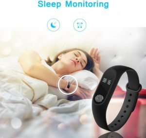 Leco M2 Heart Rate Smart Fitness Band (Black) at Rs 499