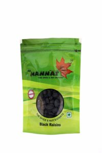 Mannat Black Raisins, 200g at Rs 100