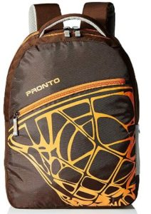 Pronto Volcano 20 Ltrs Coffee Casual Backpack (8804 - CF)