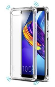 Tarkan Shock Proof Protective Soft Transparent Back Case Cover for Honor View 10 (V10)
