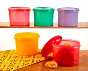 Tupperware Medium Store All Canister, 1.3 litres,1 Piece (Assorted Color)