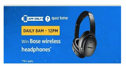 bose wireless headphones amazon quiz