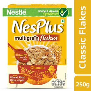 Nestlé NesPlus Breakfast Cereal, Multigrain Flakes