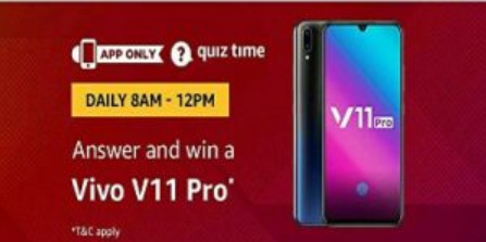 vivo v11 pro amazon quiz