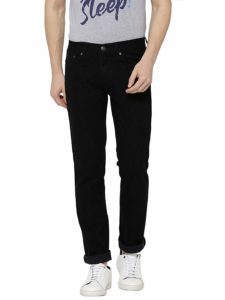 AMERICAN CREW Men's Straight Fit Black Jeans at Upto 80% off starting at Rs 599