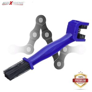 AllExtreme Bike Chain Cleaner for Cycle, Motorcycle and MTB Road Bike (Blue)