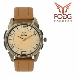 Amazon - Fogg Analog Gold Dial Men's Watch  at Rs.179
