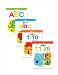 Amazon- Writing Practice A Set Of 4 Books (Writing Fun Pack) at Rs 135