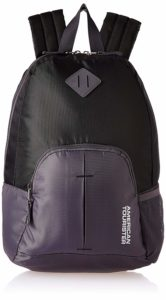 American Tourister 20 Ltrs Black Small Casual Backpack