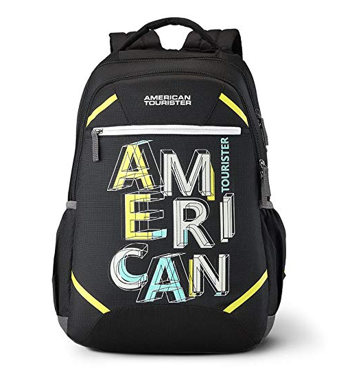 American Tourister Rave 29 Ltrs Black Casual Backpack