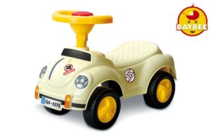Baybee Classic Herby Ride-on Car (Beige)