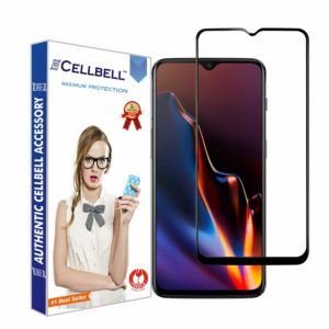CELLBELL Full Glue Edge to Edge Screen Protective Tempered Glass