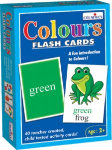 Creative Educational Aids 0522 Colour - Flash Cards