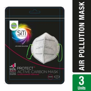 Dettol Siti Shield Carbon Activated Air-Pollution Mask